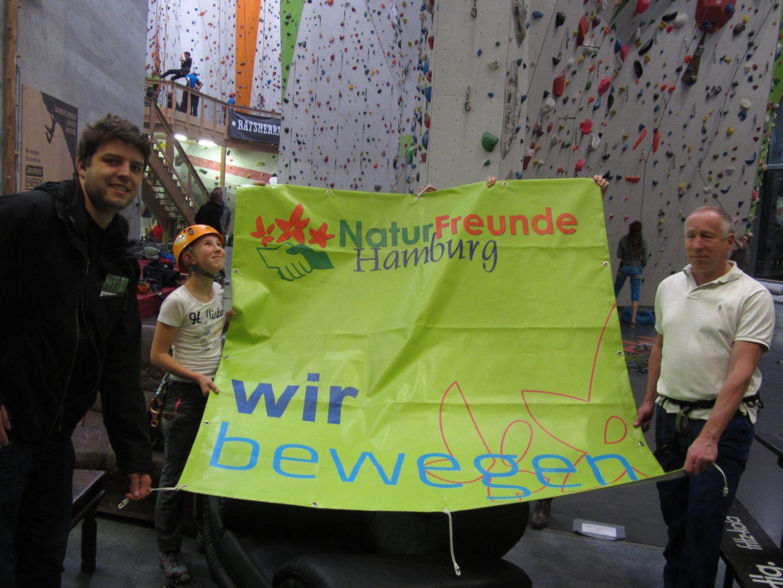 Eröffnung Klettersteig